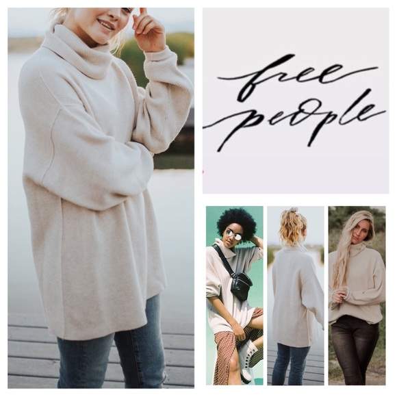 dd58795cd9a8 Free People Sweaters | Softly Structured Tunic Sweater Nwt | Poshmark
